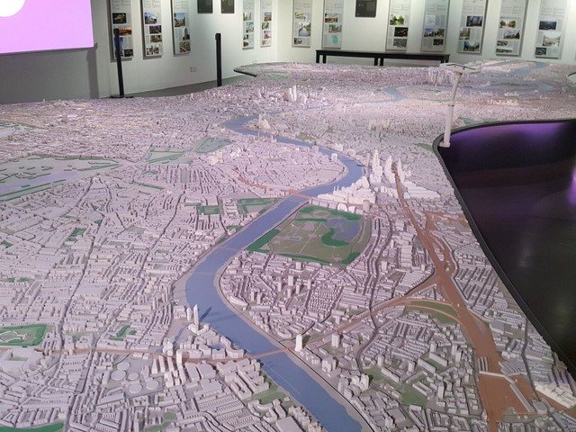 A giant model of London coming to King's Cross