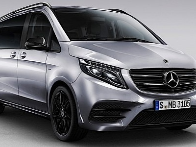 Mercedes-Benz V-Class Gets Night Edition Ahead of Facelift Launch