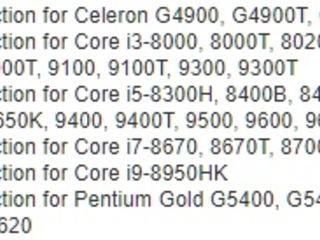 Intel is bringing Core i9 chips to laptops (and other leaked details about upcoming 8th and 9th-gen Core chips)