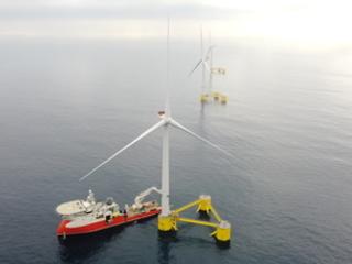 Towering achievement: Ribbon cut on 25MW floating wind farm in Atlantic