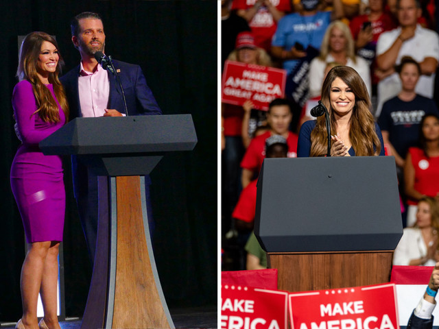 Donald Trump Jr's partner Kimberly Guilfoyle tests positive for coronavirus after she attended Tulsa rally