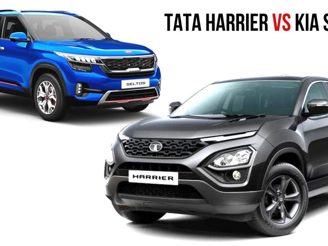 Kia Seltos Specs Comparison With Tata Harrier – Most Detailed
