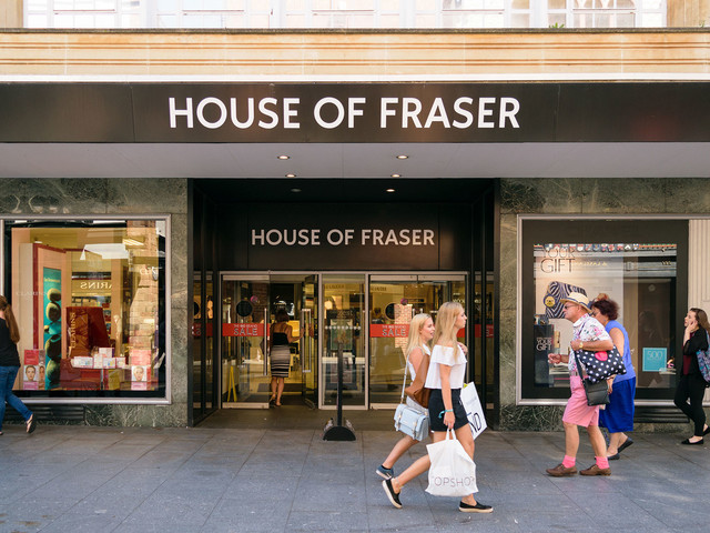 House of Fraser rescued from administration: what does it mean for customers?