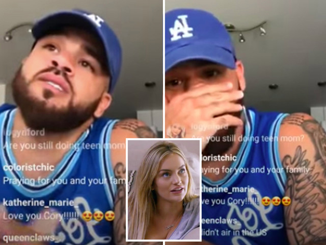 Teen Mom's Cory Wharton breaks down in tears over girlfriend Taylor Selfridge's firing from show