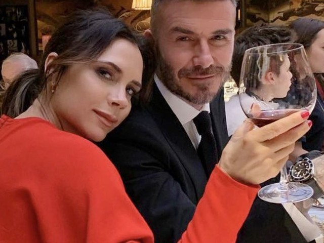 David and Victoria Beckham snuggle after LFW as she insists she 'couldn't do it without' him
