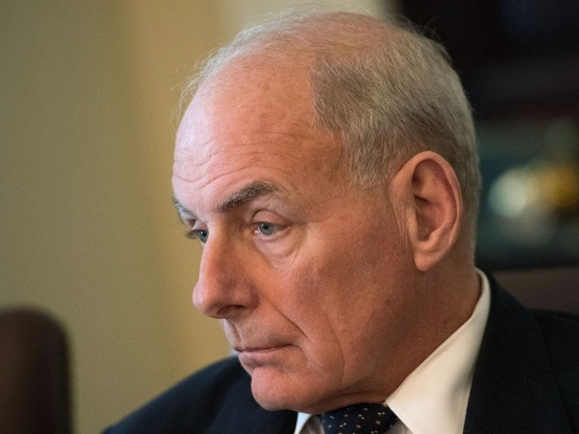 People inside the White House just backstabbed John Kelly more directly than ever before in the Rob Porter scandal