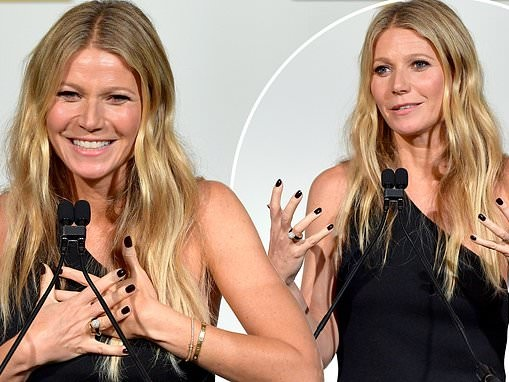 Gwyneth Paltrow didn't write a speech for ELLE as she was drunk
