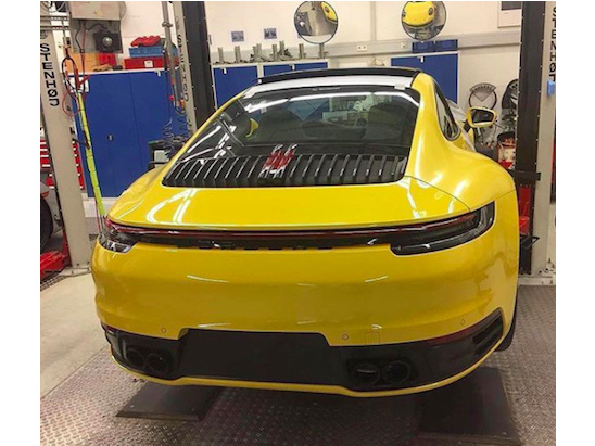 An Image of the Next Porsche 911 May Have Leaked