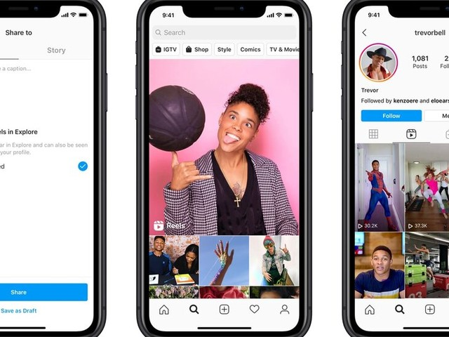 With TikTok Mired in Uncertainty, Facebook Pounces With Instagram Reels