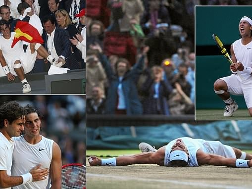 Rafael Nadal beat Roger Federer in 'best tennis match ever', here is a look back at Wimbledon final