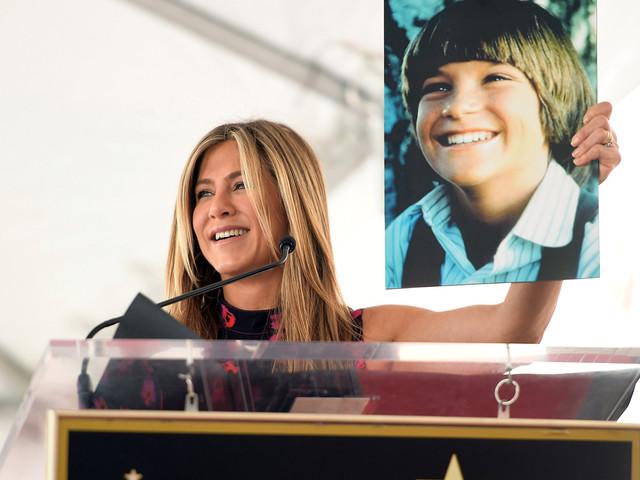 Jennifer Aniston Supports Jason Bateman at Walk of Fame Ceremony!