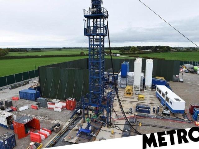Largest ever earthquake rocks UK fracking site