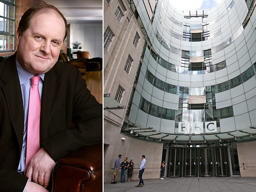 BBC 'paid Radio 4 host James Naughtie £175k a year after he appeared on air for just 23 HOURS'