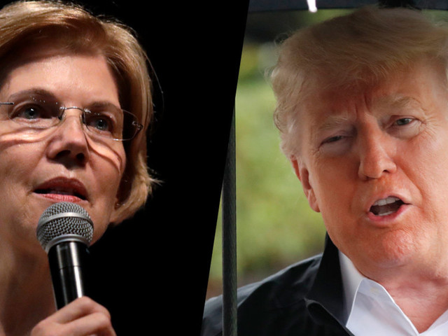 Trump Denies Making Charity Pledge Tied To Elizabeth Warren DNA Test