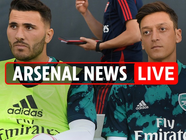 9pm Arsenal transfer news LIVE: Emery hints at further sales this month, Ozil and Kolasinac OUT of Newcastle game because of 'security fears'