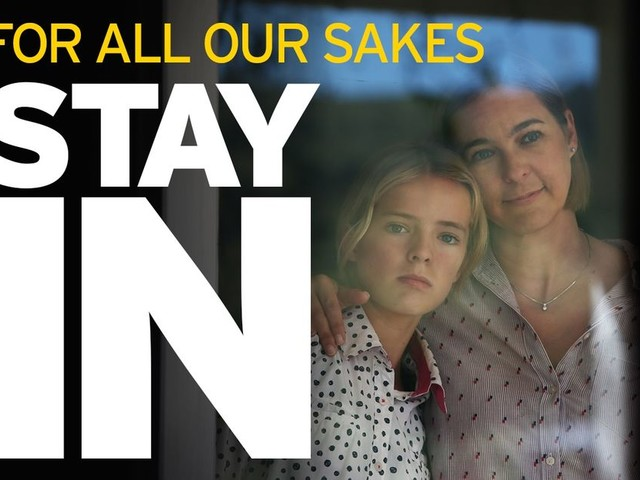 Do the right thing this Easter weekend - stay in, protect the NHS and save lives