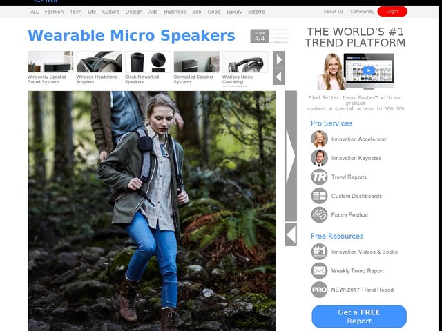Wearable Micro Speakers - The Bose Soundlink Micro Speaker Produces Huge Sound in a Small Device (TrendHunter.com)