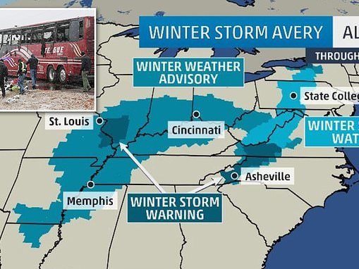 Winter Storm Avery expected to bring ferocious winds and snow to the Midwest and East Coast