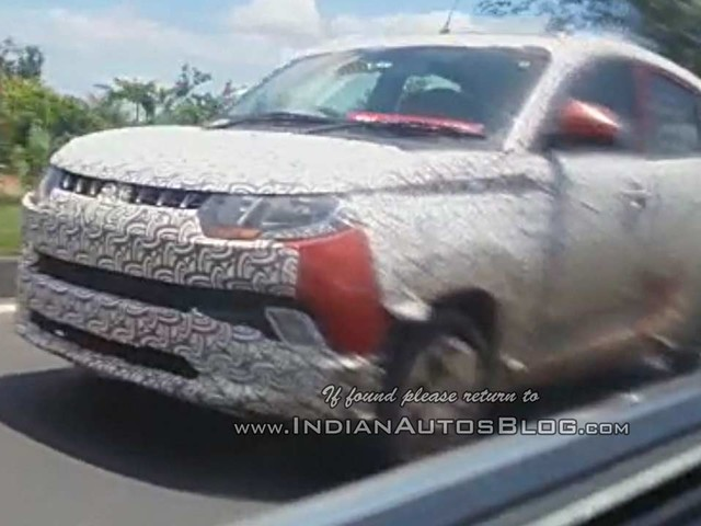 Mahindra KUV100 NXT (facelift) changes revealed – Report