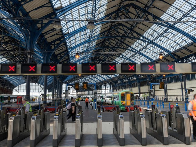 Rail passengers lose 4 MILLION hours in delays in a year, with one in three not receiving compensation