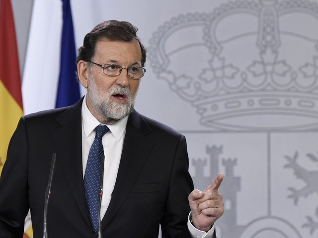 Catalonia's Government To Be Sacked In Post-Independence Referendum Clampdown By Madrid