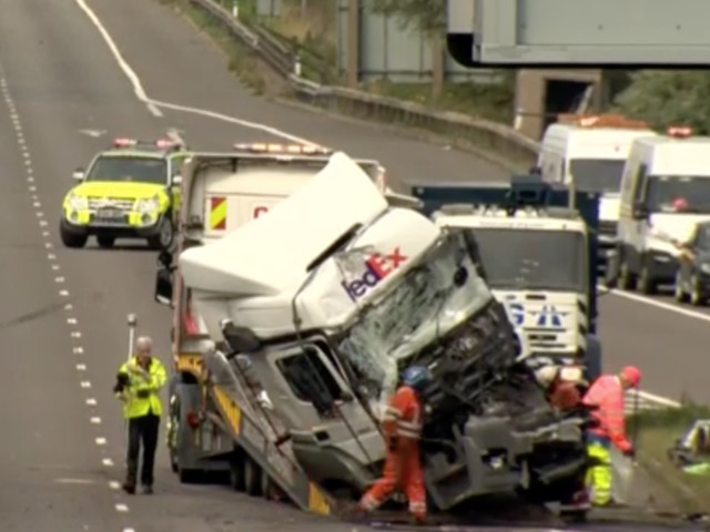 M1 Crash At Newport Pagnell Leaves Eight Dead And Three Fighting For Life