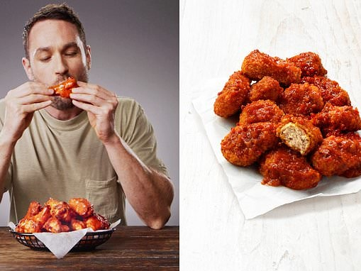 Pizza Hut launches VEGAN chicken 'wings' that look exactly like the popular meat alternative