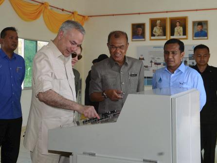 Perak Sultan: Water crisis a real global phenomenon