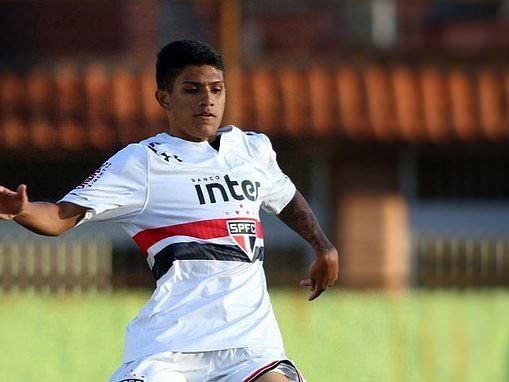 Barcelona beat Liverpool and Atletico Madrid to £4million deal for Sao Paulo starlet Gustavo Maia