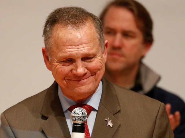 Roy Moore Still Won't Concede Defeat