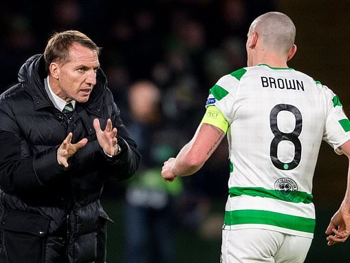Brendan Rodgers insists there will always be role waiting for Scott Brown at Celtic in the future