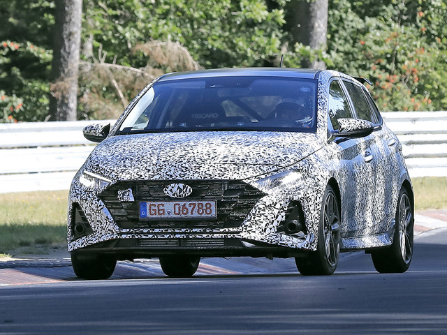 2020 Hyundai i20 N hot hatch shows off pumped-up styling