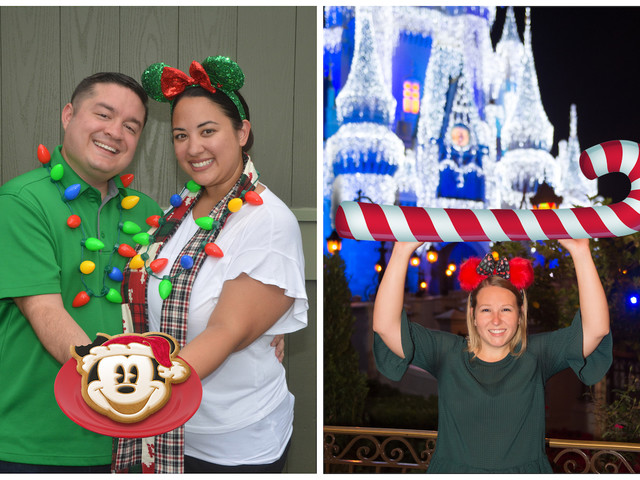 PhotoPass Offering Festive Shots at Mickey's Very Merry Christmas Party