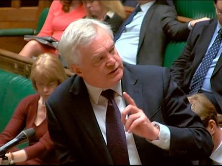 Integrity of UK comes first, Brexit secretary David Davis tells MPs in wake of Ireland border shambles