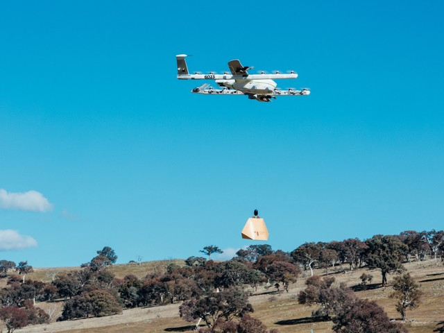 Alphabet's Project Wing now delivers burritos by drone in southeastern Australia