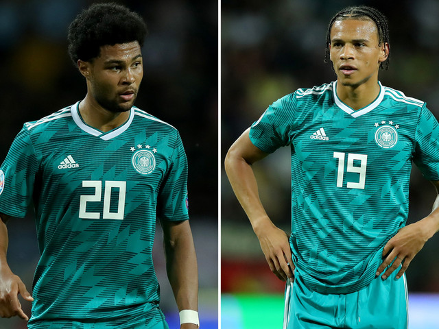 Leroy Sane urged to quit Man City for Bayern Munich by former Arsenal star Gnabry