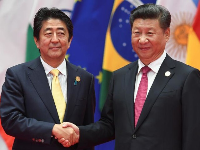 Xi and Abe Step Forward