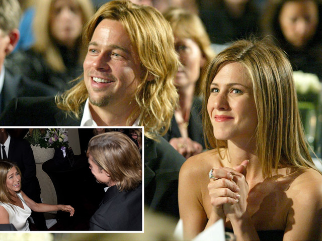 Jennifer Aniston and Brad Pitt's friends 'convinced they'll get back together' – and his 'family would love it'