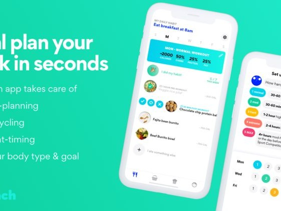 Lifestyle-Conscious Meal Plan Apps - The 'Ari Coach' App Covers Macro-Planning and More (TrendHunter.com)
