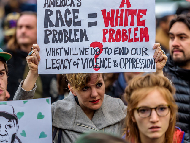 The Key To Fighting White Supremacism Is White People Waking Up
