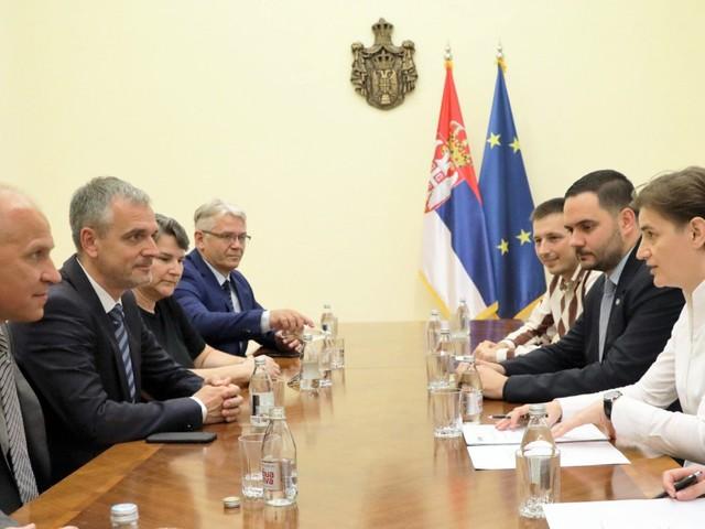 EUSA meet with Serbian Prime Minister ahead of 2020 European Universities Games in Belgrade