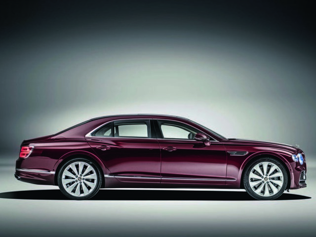 New Bentley Flying Spur: 207mph luxury sports saloon on show at Goodwood