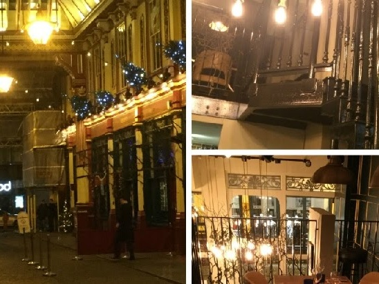 Historic London, Leadenhall Market and Pizza Express