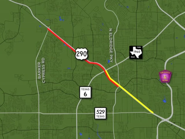More lanes opening along US 290 as construction nears close