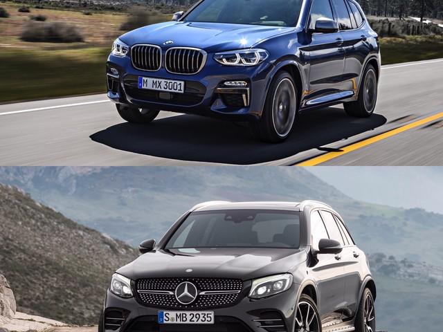 Photo Comparison: BMW X3 M40i vs Mercedes-AMG GLC43