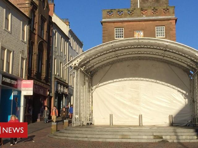 Dumfries revival bid site put back up for sale
