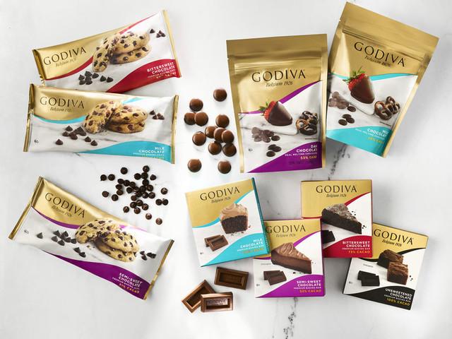 High-End Baking Chocolates - Godiva's New Premium Baking Chocolates Come in Three Varieties (TrendHunter.com)