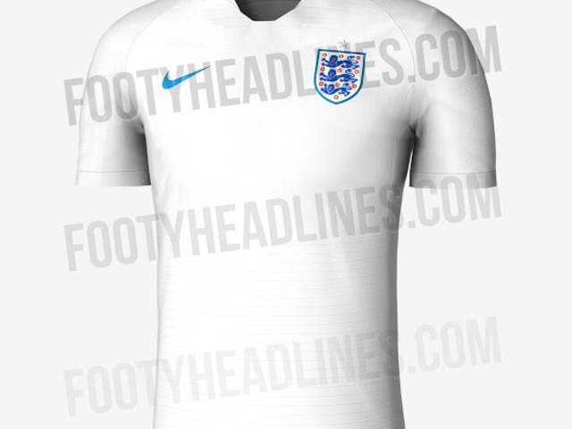 Apparently This Is The New Nike Kit England Will Wear For Their Disappointing Second Round Exit At 2018 World Cup (Leaked Photos)