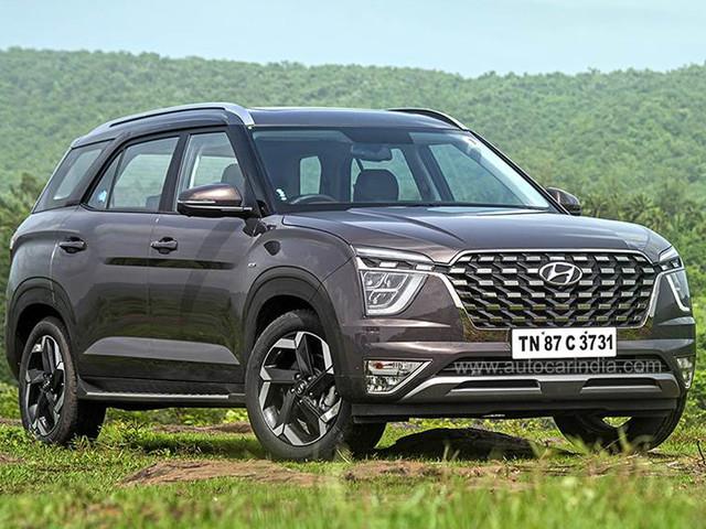 Hyundai Alcazar Platinum (O) diesel seven-seater launched