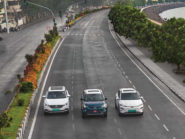 Review: MG ZS EV vs Tata Nexon EV vs Hyundai Kona Electric comparison